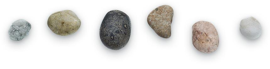 עיסוי עם אבנים חמות עוצמת המגע